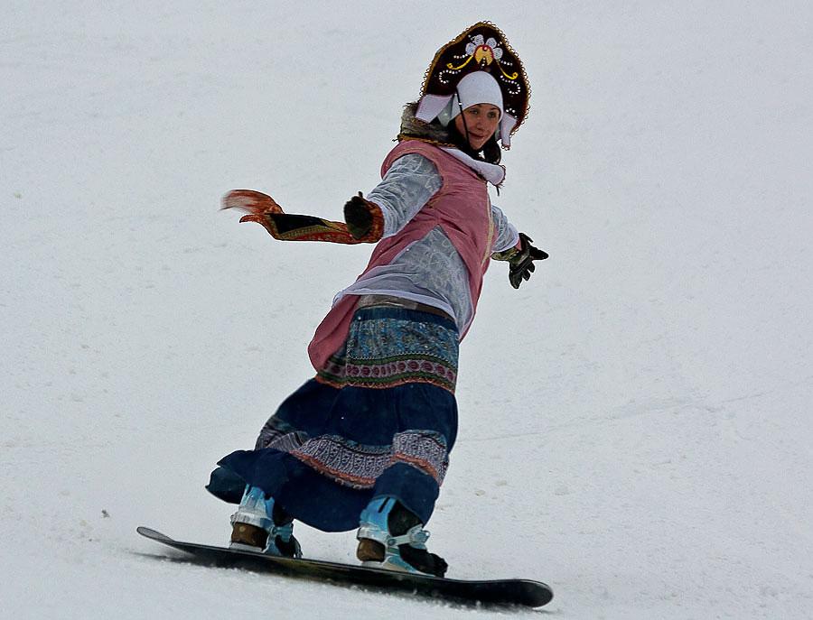 """фото """"Снегурка."""" метки: спорт,"""