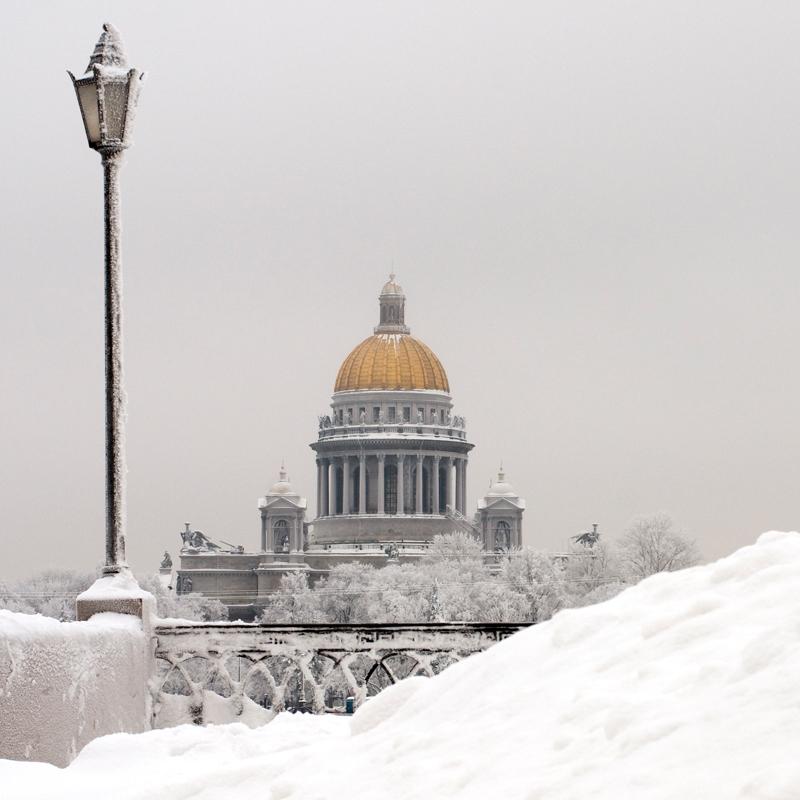 "фото ""Зима"" метки: архитектура, пейзаж,"