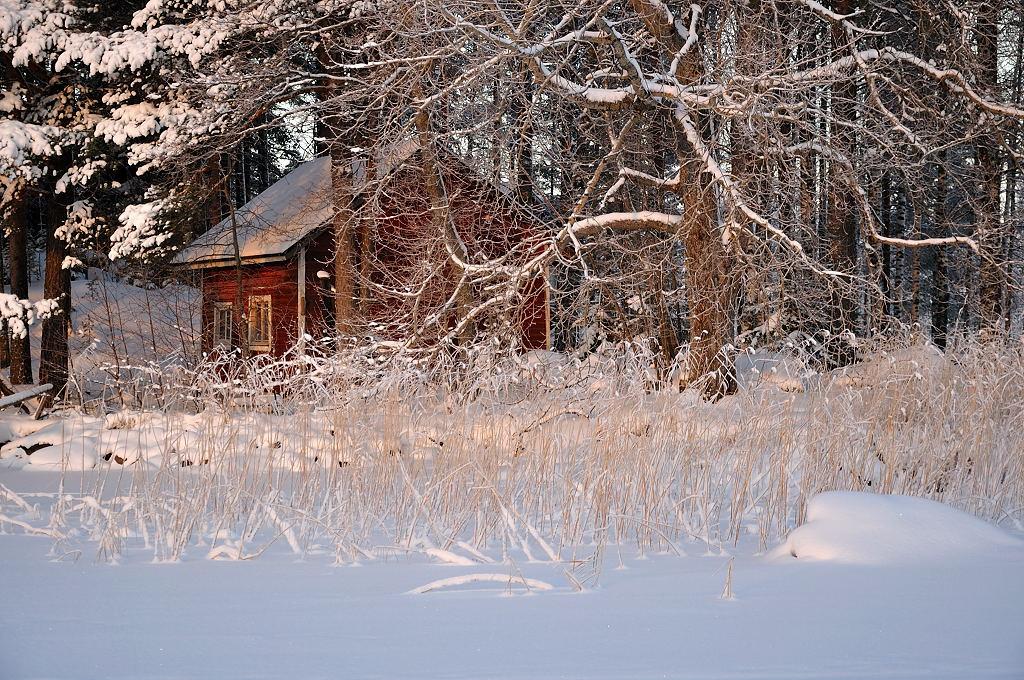 """фото """"Kallavesi 1"""" метки: пейзаж, зима"""