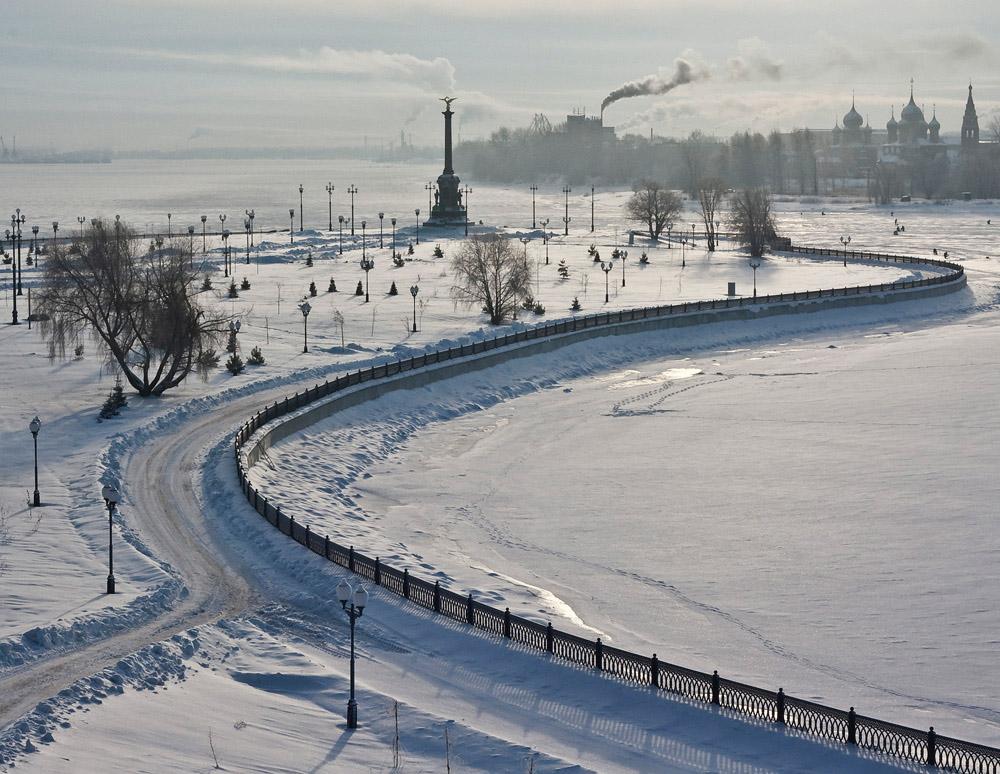 """фото """"***"""" метки: пейзаж, город, зима"""