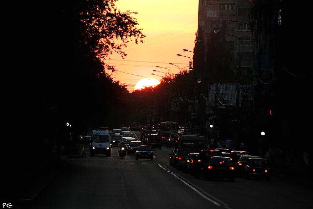 "фото ""закат."" метки: пейзаж, закат"