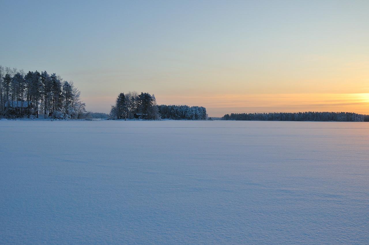 """фото """"Kallavesi 2"""" метки: пейзаж, зима"""