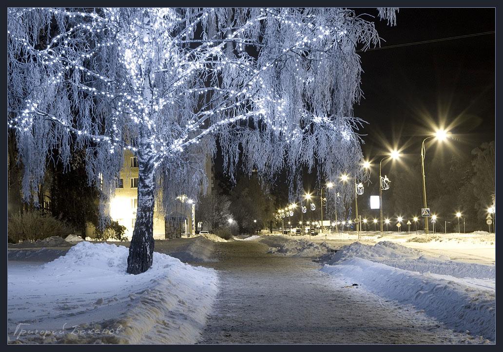 """фото """"Эйва"""" метки: пейзаж, зима, ночь"""