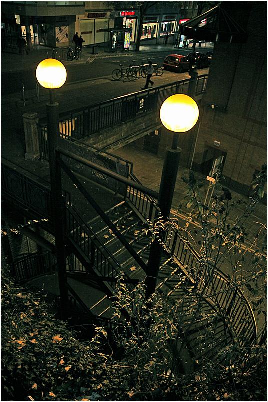 """фото """"Городская миниатюра."""" метки: пейзаж, город, ночь"""