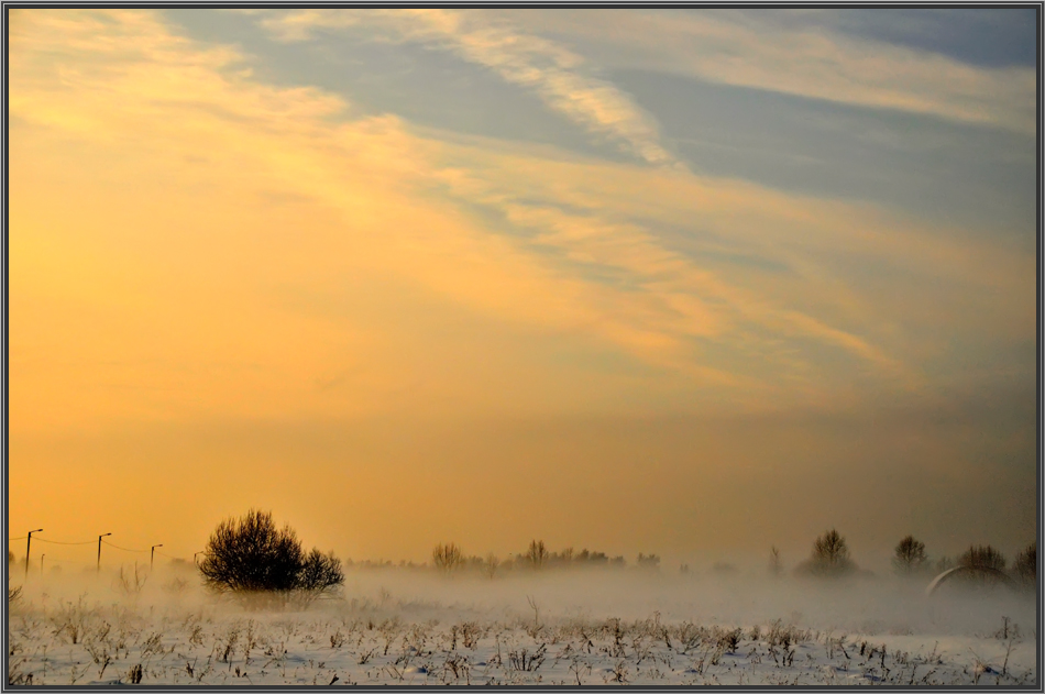 """фото """"мороз туман и солнце"""" метки: пейзаж, зима"""