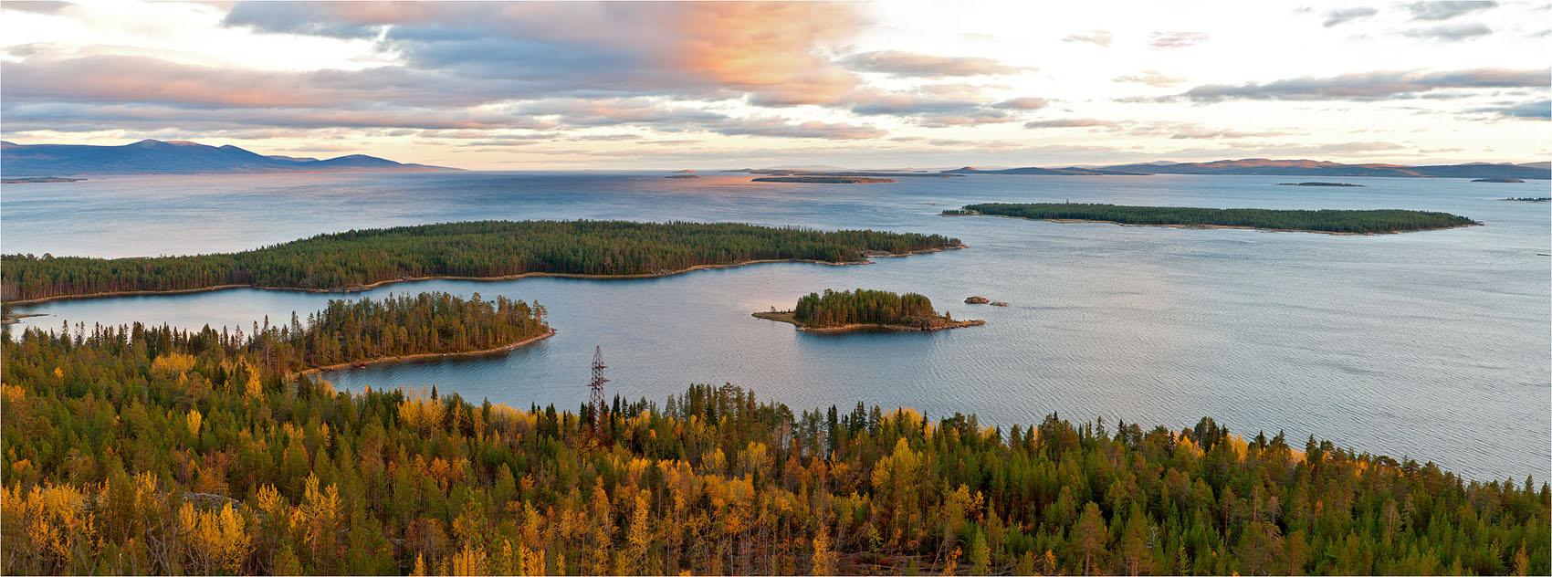 """фото """"Кандалакшский залив"""" метки: пейзаж, панорама, осень"""