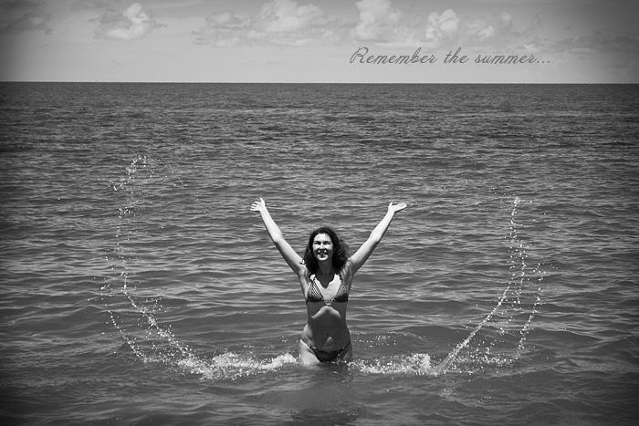 """фото """"Remember the summer"""" метки: черно-белые, пейзаж, лето"""
