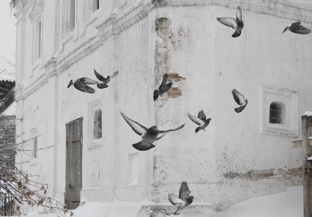"""фото """"Церковный дворик"""" метки: архитектура, природа, пейзаж,"""