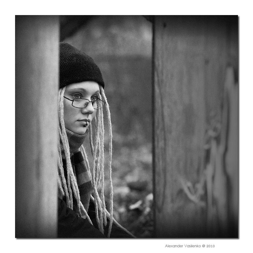 """фото """"Портрет дождя..."""" метки: портрет, жанр, женщина"""