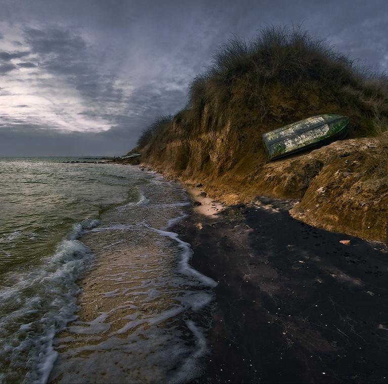 """фото """"Январским утром на Азове"""" метки: пейзаж, вода"""
