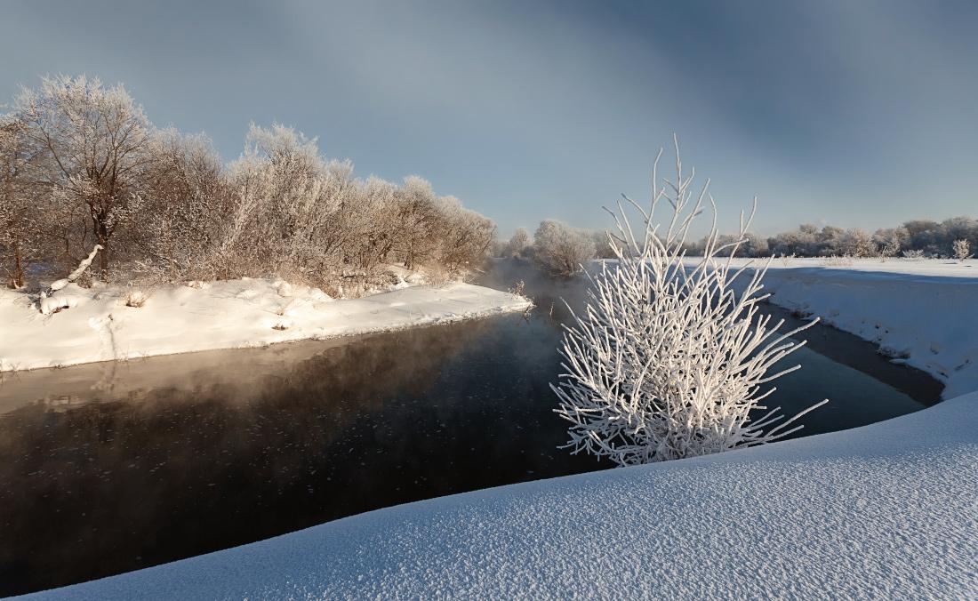 "фото ""Зимнее солнце"" метки: пейзаж, зима"