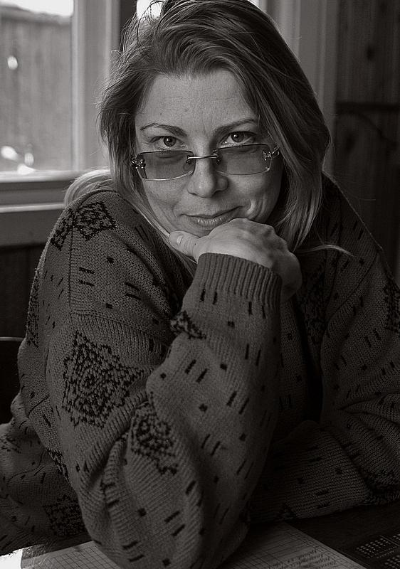 """фото """"Учительница"""" метки: портрет, черно-белые, женщина"""