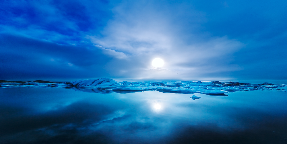 """фото """"Light in The Ice"""" метки: пейзаж, вода, зима"""