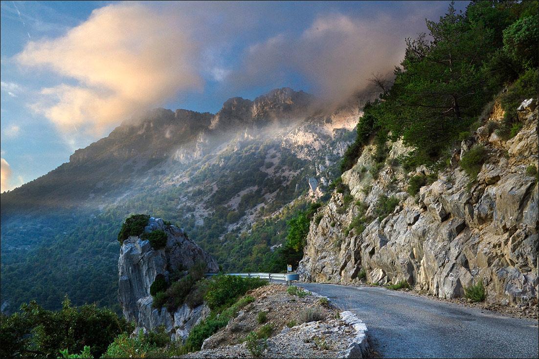 """фото """"Дорога в St. Agness 2"""" метки: путешествия, Европа"""