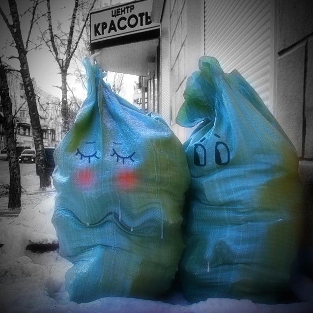 "фото ""Про любовь"" метки: юмор, город,"