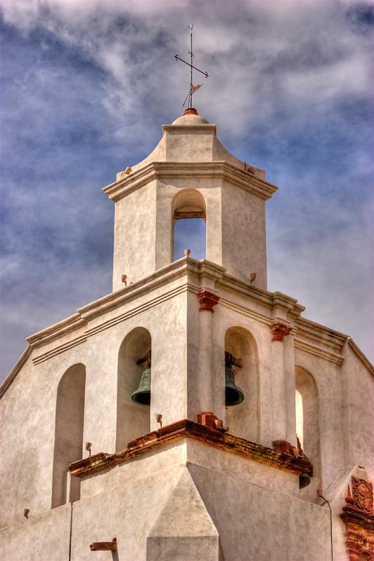"""photo """"Campanario San Francisco"""" tags: architecture, landscape,"""