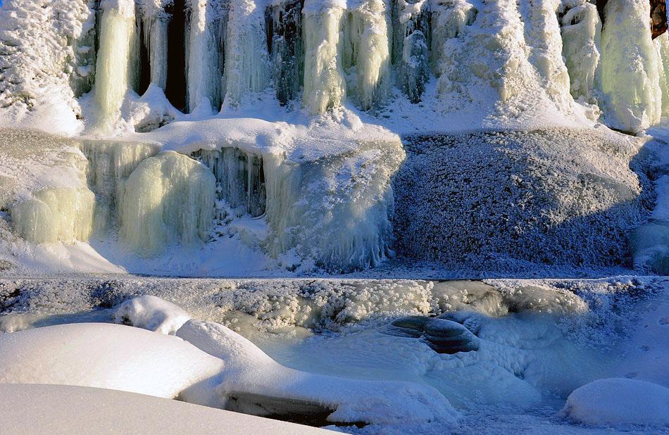 """фото """"Зимние оковы"""" метки: пейзаж, вода, зима"""