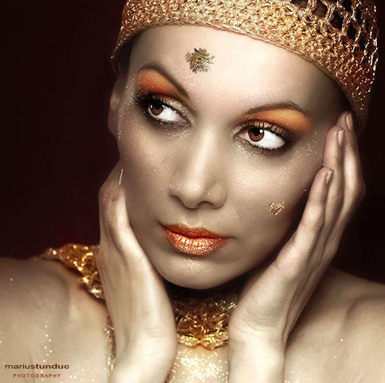 """фото """"gold"""" метки: портрет, гламур, женщина"""