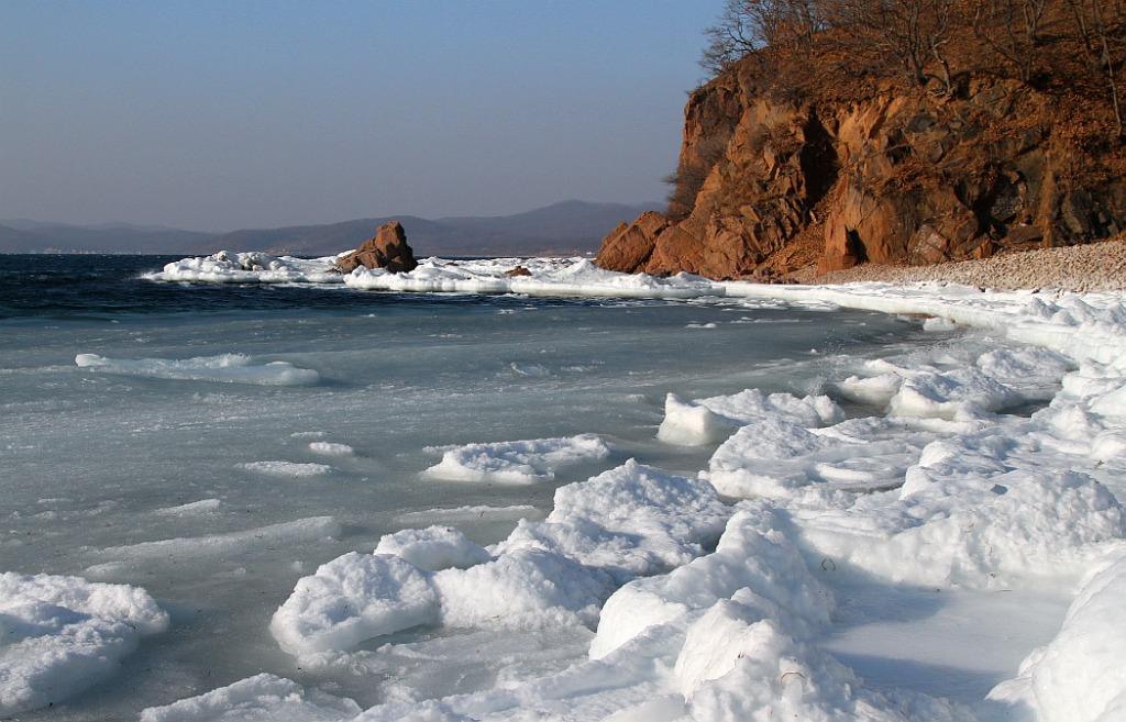 """фото """"Восточный берег небольшого залива"""" метки: пейзаж, зима"""
