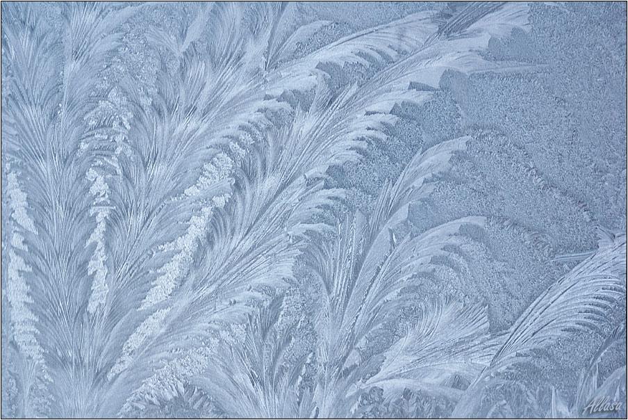 Как сделать морозные узоры на стекле своими