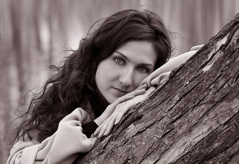 черно белое любительское фото