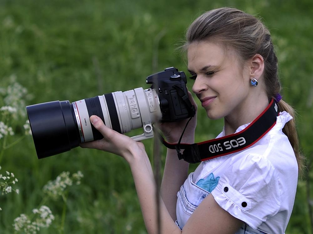 фото сделанные с профессионального фотоаппарата также пояснила, что