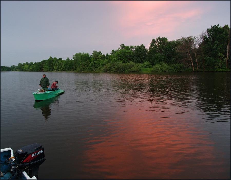 рыбалка с баженовым
