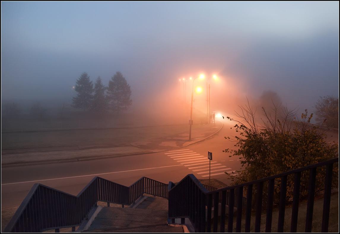 ожидании фото вечерний туман в городе официанты принесли заказ
