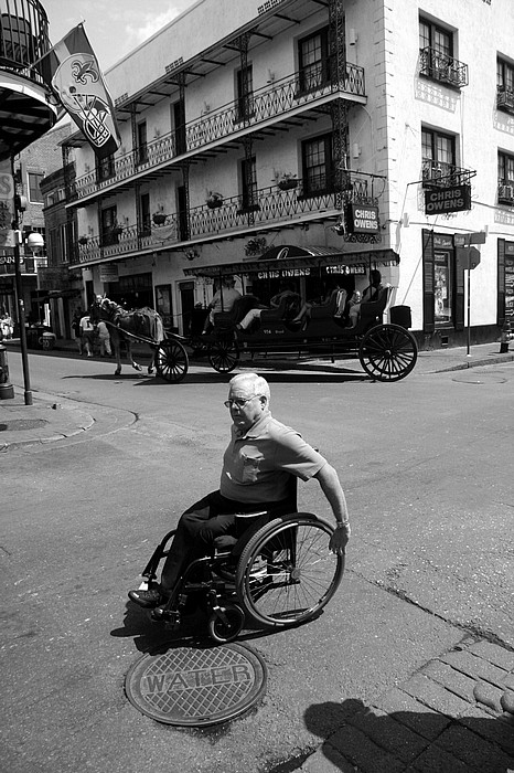 "photo ""French Quarter Transportation"" tags: city, travel, North America"