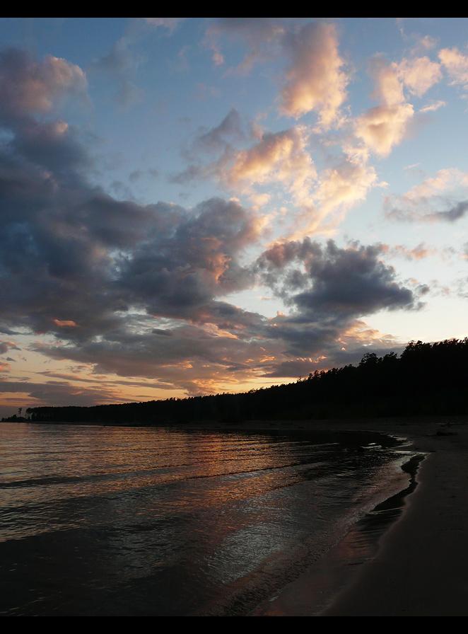 """фото """"****"""" метки: пейзаж, вода, закат"""