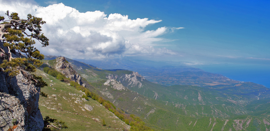 """фото """"Прекрасны вы брега Тавриды..."""" метки: пейзаж, природа, горы"""