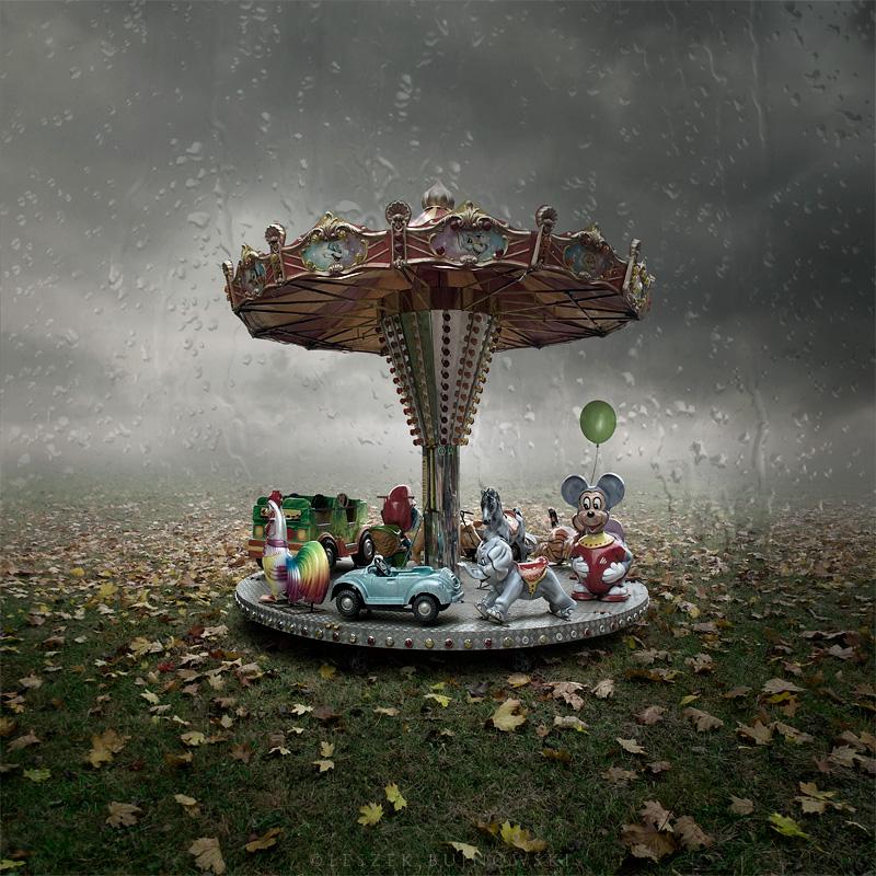 """фото """"Rainy circus"""" метки: digital art,"""