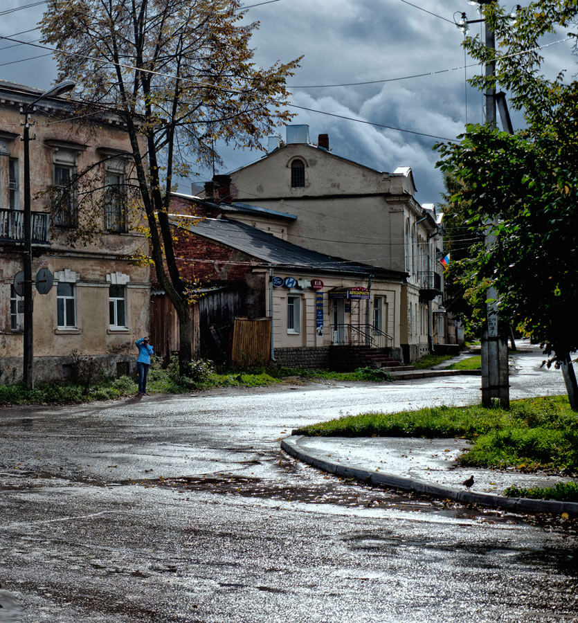 """фото """"Осень в уездном городе.2"""" метки: ,"""