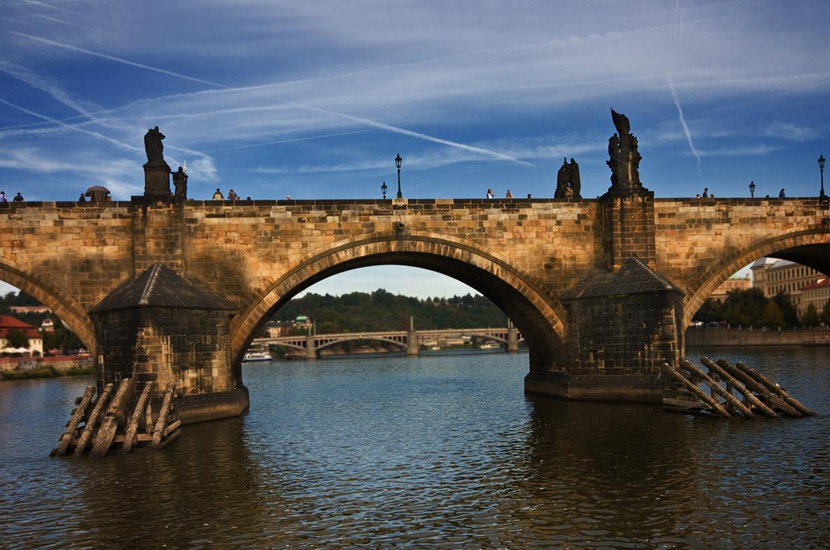 "фото ""Мост и небо."" метки: архитектура, город, пейзаж,"