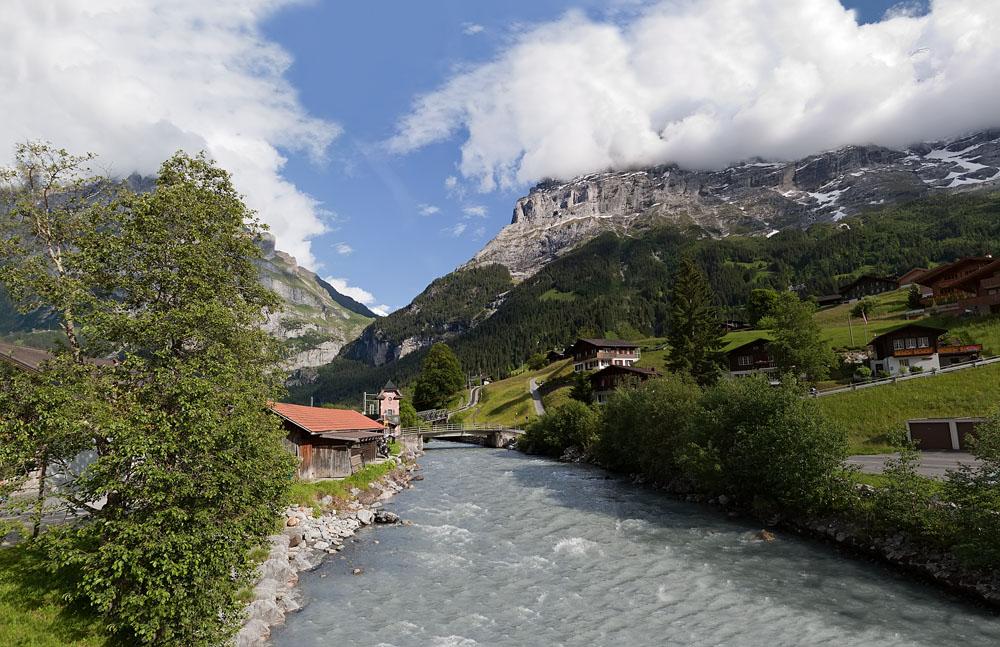 """фото """"Горная речка"""" метки: пейзаж, путешествия, Европа, горы"""