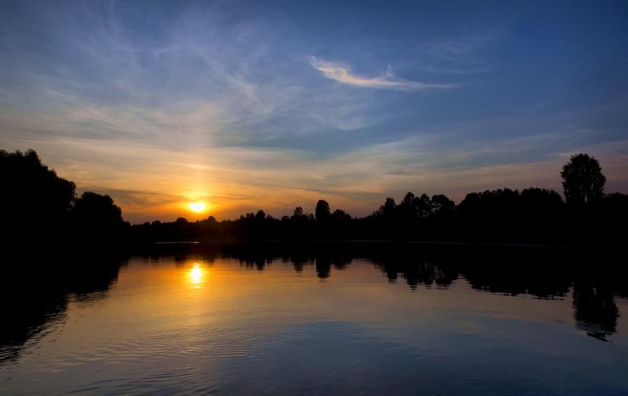 """фото """"***"""" метки: пейзаж, закат, лето"""