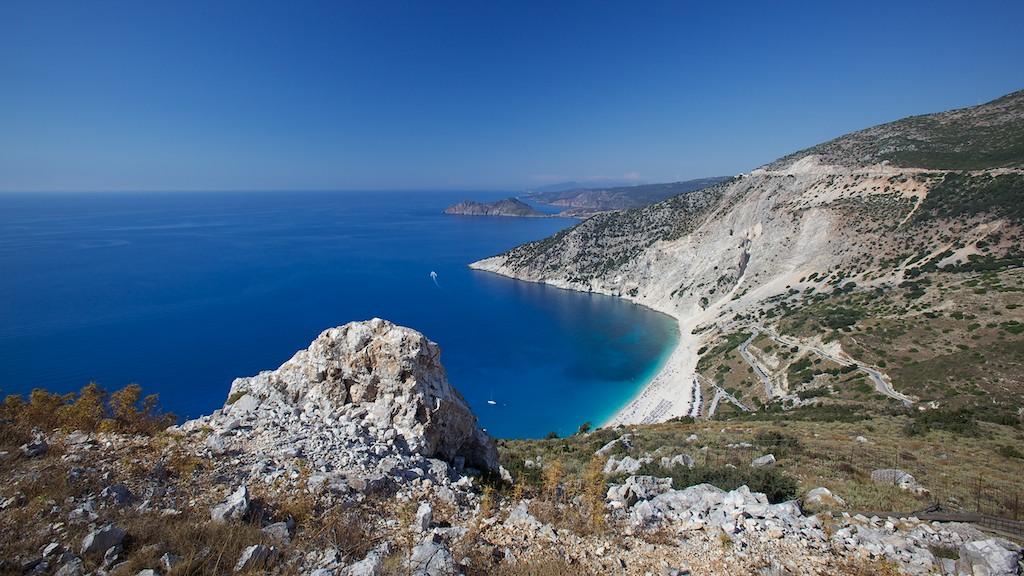 "фото ""Mirtos beach"" метки: пейзаж, вода"