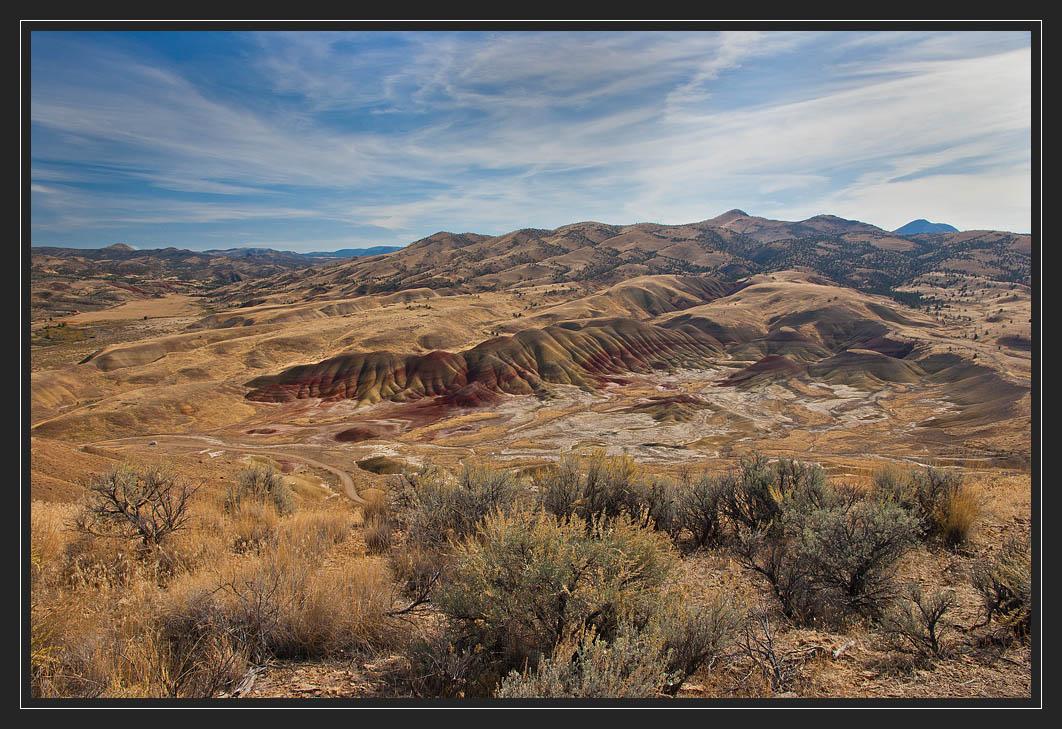 """фото """"Панорама радужной пустыни"""" метки: пейзаж, путешествия, горы"""
