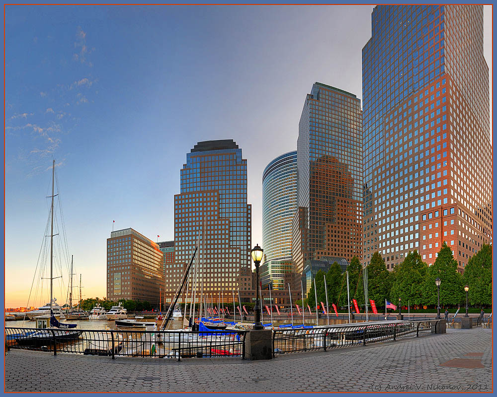 """photo """"Early morning in lower Manhattan"""" tags: landscape, city,"""