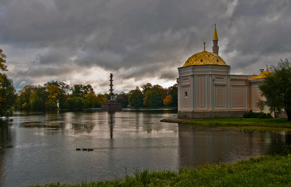 """фото """"Осень в Царском селе"""" метки: пейзаж, вода, осень"""