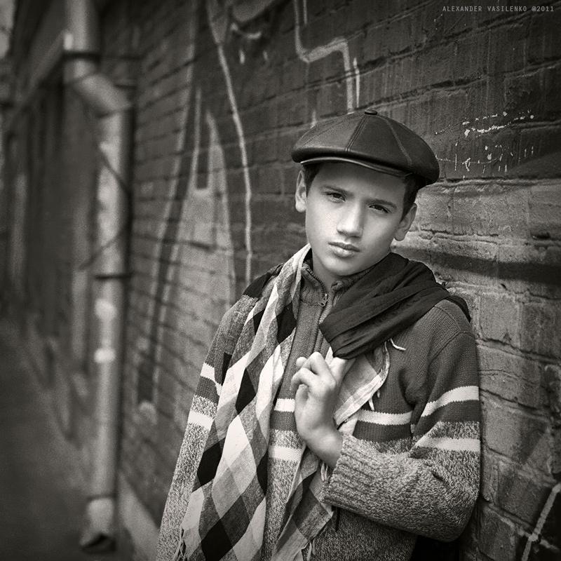 "фото ""KOLOBOV, Jr. #1"" метки: черно-белые, портрет, дети"