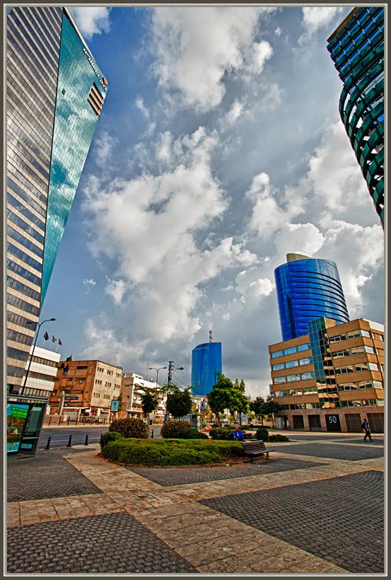 """photo """"Tel-Aviv 2987"""" tags: architecture, city, landscape,"""