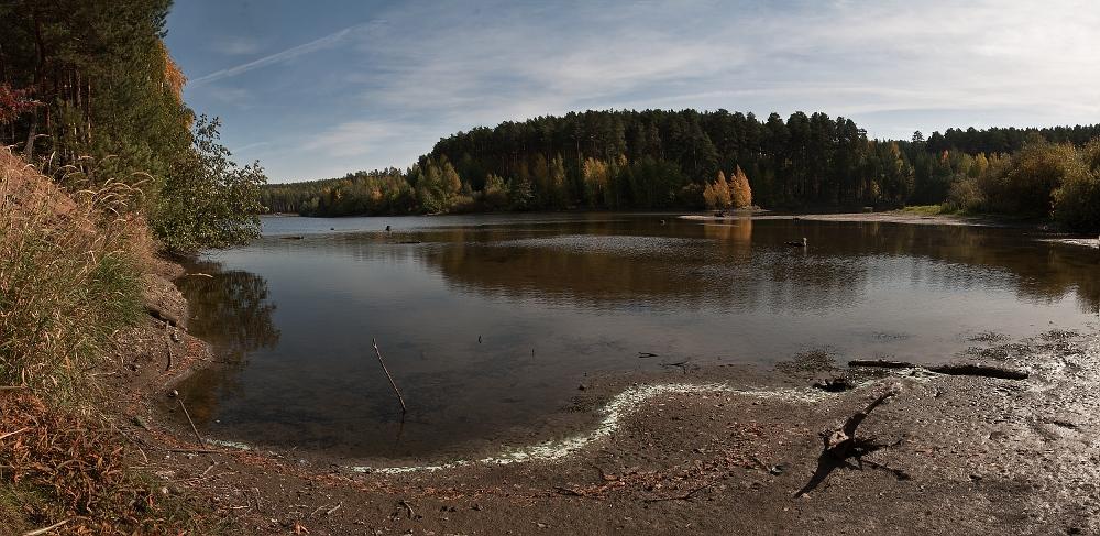 """фото """"Гуляй,осень..."""" метки: пейзаж, вода"""