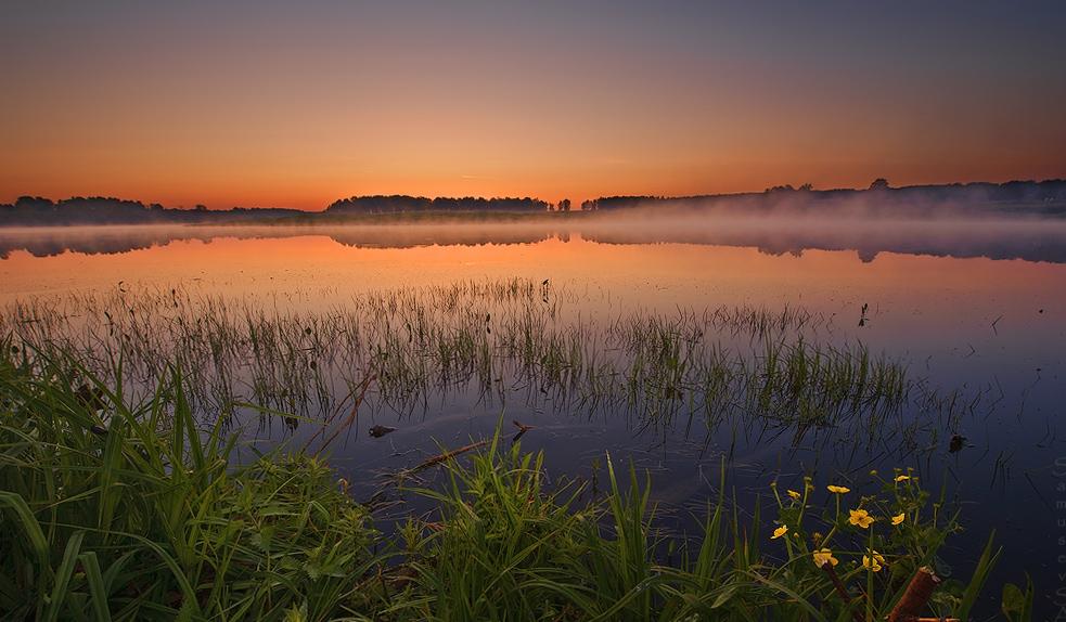 "фото ""Предрассветная"" метки: пейзаж, закат"