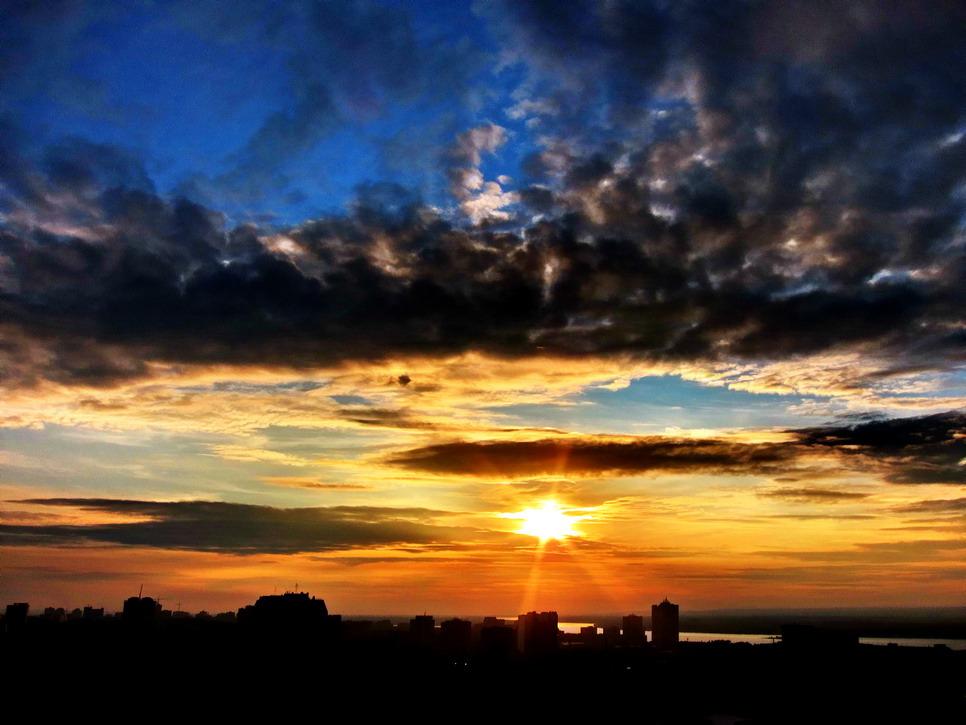 """фото """"Вечерняя звезда"""" метки: пейзаж, закат"""