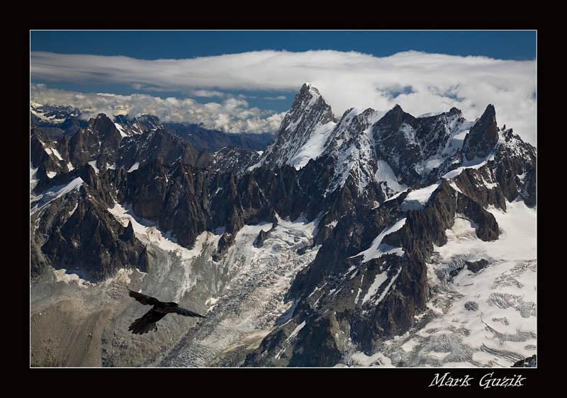 """фото """"Воздушный патруль"""" метки: пейзаж, горы"""
