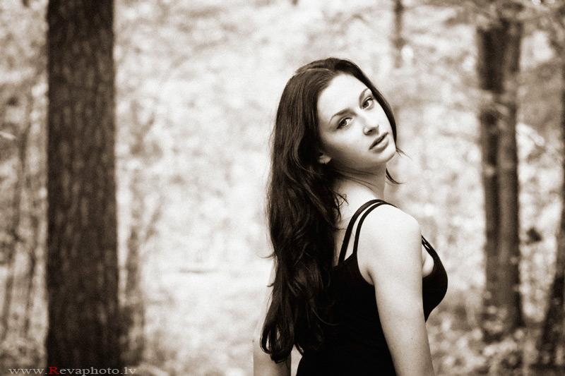 """фото """"one momet of autumn"""" метки: портрет, женщина"""
