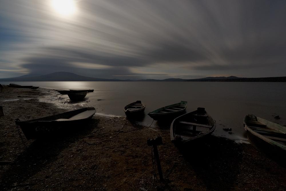 """фото """"ночь на озере Зюраткуль"""" метки: пейзаж,"""