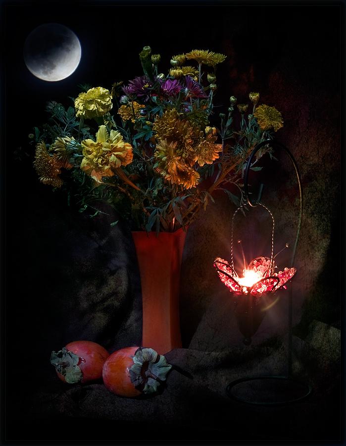 """photo """"Autumn night"""" tags: still life,"""