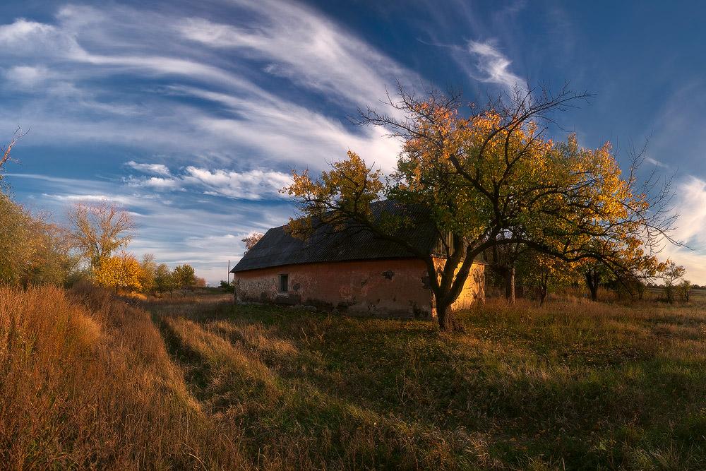 """фото """"Под Небом Голубым"""" метки: пейзаж, осень"""